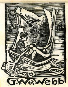 My book : G. W. Webb, artist unknown