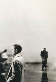 Steve Schapiro Three Men, New York, 1961 From Steve Schapiro: American Edge  Thanks to liquidnight and mudwerks