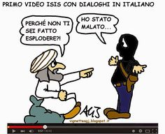 Primo video ISIS in italiano