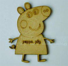 Peppa pig - Para comprar este o cualquier otro artículo, visitenos en www.fulllaser.net