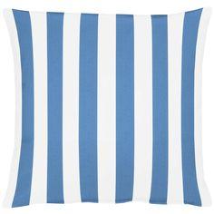 gewebtes Kissen mit Streifen von Apelt, Artikel DELFI