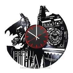 Decorative Big Handmade Vinyl Record Wall Clock – Get unique living room or bedroom wall decor – Gift ideas for his and her – Superhero Figure Unique Art Design Check It Out Now     $39.99    Amazing-looking vintage wall clock made from used vinyl records. Detailed information about the product: • We may cha ..  http://www.handmadeaccessories.top/2017/03/23/decorative-big-handmade-vinyl-record-wall-clock-get-unique-living-room-or-bedroom-wall-decor-gift-ideas-for-his-and-her-su..