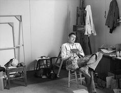 Richard Diebenkorn-Portrait, by Rose Mandel. 1956