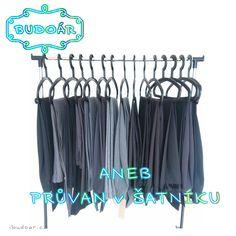 Kalhoty ve velikostech 38 - 40 - 42, šedé, antracitové, černé, černé s bílým proužkem...