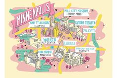 """Ultimate Weekend in Minneapolis"" - Interesting Wall Street Journal article laying out one possible itinerary for a tourist weekend in the Minneapple. Sounds a bit spendy and exhausting. Which is why I choose to just live here, I suppose, and take all our greatness at a slower pace."