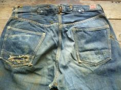 vintage workwear: Search results for headlight Raw Denim, Denim Jeans, Levi Strauss & Co, Vintage Jeans, Denim Fashion, Work Wear, Pants, How To Wear, Outfits
