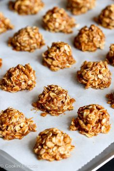 Healthy No-Bake Maple Cookies {Vegan}...60 calories and 2 Weight Watches PP