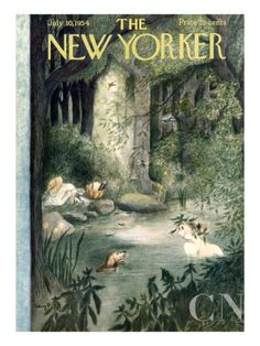 The New Yorker Cover - July 10, 1954 Regular Giclee Print