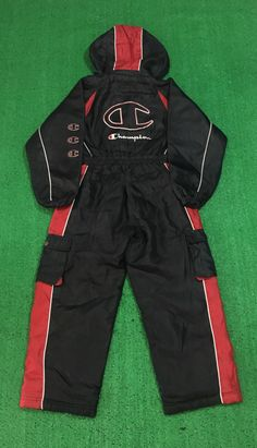A personal favorite from my Etsy shop https://www.etsy.com/listing/481847526/free-shipping-vintage-champion-race-suit