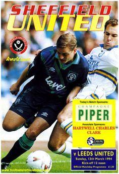 Programme, versus Leeds United