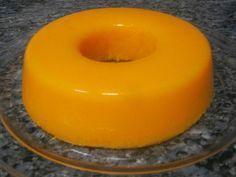 150g cenoura ralada 250 ml de água 500 ml sumo de laranja natural (pode ser sumo natural de compra) 100g farinha maizena 4 colheres de ...