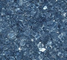 Pacific Blue 1/4 Inch Fire Glass