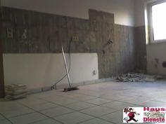 2009 (Kunde)  Entkernung und Kleinarbeiten, Küchenaufbau, Bodenverlegung und viele weitere Dinge!  Dazu gehört auchg die BAU REINIGUNG!
