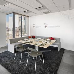 STEELCASE   COALESSE   Welcome guests with spaces that inspire. #lessthanfive #together #boston #worklife  #officedesign #furnituredesign #coalesse #bringingnewlifetowork
