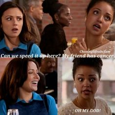 """#ChasingLife 1x02 """"Help Wanted"""" - April and Beth"""