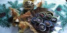 Šuhajdy plnené Salkom a orechmi (fotorecept) - recept | Varecha.sk Rum, Christmas Bulbs, Holiday Decor, Christmas Light Bulbs, Rome