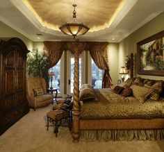 Bedroom - mediterranean - bedroom - orlando - Kamenoff and Associates, Inc.