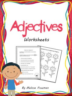 Adjectives Worksheets for primary students!