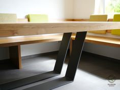 Dining Bench, Kitchen Design, Desk, Grob, Table, Athens, Furniture, Home Decor, Dining Table Bench