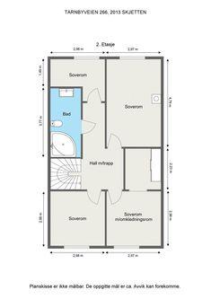 (13) Skjettenbyen - Attraktivt rekkehus med god standard i barnevennlig gate - Avklart forkjøpsrett - Blindvei - Garasje | FINN.no Floor Plans, Real Estate, Ads, Real Estates, Floor Plan Drawing, House Floor Plans