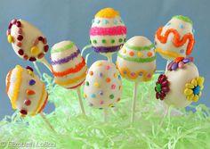 How to Make Easter Egg Cake Pops