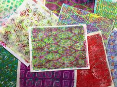 In this video I'm sharing some of the things I've learned about Gelli® printing to help those of you who may want to do this, but you're not sure what it's a...