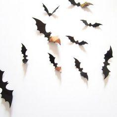 Pegatinas 3D de murciélagos (1,50 / lote)