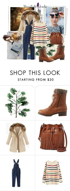 """""""Beautifulhalo 4"""" by ramiza-rotic ❤ liked on Polyvore featuring Mark & Maddux, FOSSIL, women's clothing, women's fashion, women, female, woman, misses, juniors and beautifulhalo"""