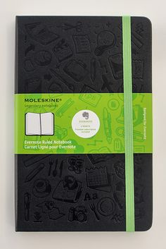 Moleskine for Evernote... best of both worlds!