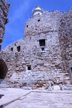 Fort St. Nicholas -Defense Walls - Tower