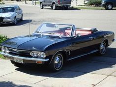 A 1965 convertible in almost new condition with 47K, bought for $3700
