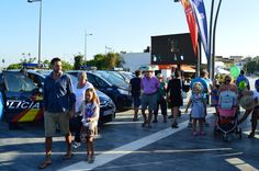 Parque publicitario de Vuelta Ciclista a España 2015 en Bulevar San Pedro Alcántara