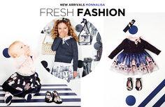 Printed fleece dress Monnalisa for girls | Melijoe.com