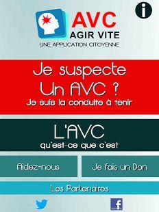 AVC (sauvez des vies) - http://www.android-logiciels.fr/avc-sauvez-des-vies/
