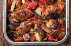Hairy Bikers' Spanish chicken bake recipe - goodtoknow