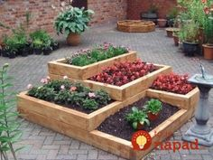 Most up-to-date Cost-Free tiered Garden Beds Popular For years and years, individuals have been growing in raised beds. As these are simply just planting Big Garden, Herb Garden, Vegetable Garden, Garden Edging, Above Ground Garden, Raised Bed Garden Design, Tiered Garden, Tiered Planter, Raised Planter