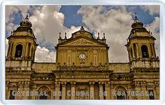 $3.29 - Acrylic Fridge Magnet: Guatemala. Cathedral of Guatemala City