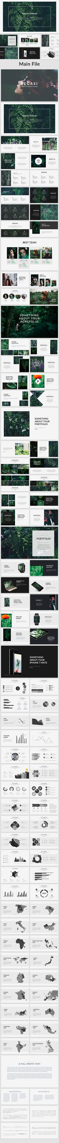 Pegasi - Creative Powerpoint Template - Creative #PowerPoint #Templates Download here: graphicriver.net/...