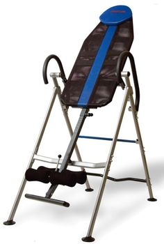 Innova Health and Fitness Inversion Therapy Table, Black/Blue - http://www.healthymagpa.com/innova-health-and-fitness-inversion-therapy-table-blackblue/