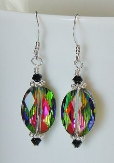 Stunning Swarovski Drop Earrings  Available in 8 by BestBuyDesigns