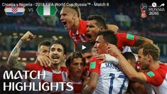 Croatia v Nigeria - 2018 FIFA World Cup Russia™ - Match 8 Croatia defeated Nigeria in their opening match of the 2018 FIFA World Cup. Find out where to watch live: More match highlights. Soccer World Cup 2018, Fifa World Cup, Premier League News, World Cup Russia 2018, Own Goal, Match Highlights, Tottenham Hotspur, Lionel Messi, Soccer