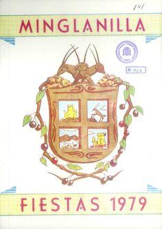 Fiestas en Minglanilla (Cuenca), en honor del Cristo de la Salud. Del 13 al 17 de septiembre de 1979. Engalanamiento de calles, con premios en metálico. #Fiestaspopulares #Minglanilla #Cuenca