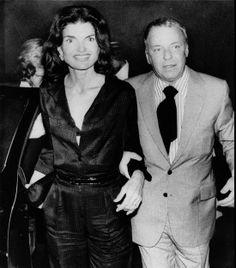 Jackie and Frank Sinatra