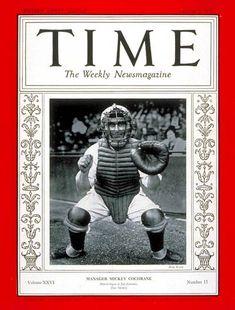 TIME Magazine Cover: Mickey Cochrane - Oct. 7, 1935 - Baseball - Detroit - Sports