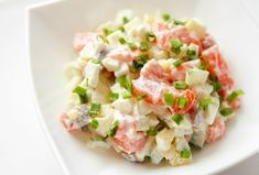 Salmon salad delicious and healthy. Salmon Salad Recipes, Fish Recipes, Seafood Recipes, Healthy Recipes, Cucumber Recipes, Soup And Salad, Salad Bar, Cucumber Bites, Good Food