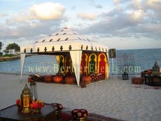 Enjoy few picture of a Moroccan Theme wedding Cocktail time in Fisher Island the After dinner Party