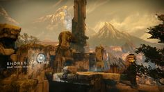 Shores of Time is a Crucible map located in the Maat Mons region of Venus. Filled with sulfuric air, exotic plants, and crumbling Vex architecture, Shores.. #destiny