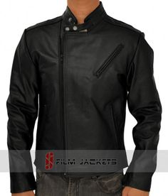 This represents style and trend. So you too can now wear it and show it off with this #IronManJacket which was worn by #RobertDowneyJr. in Iron Man. It is a pure #blackleatherjacket that can be worn anywhere.