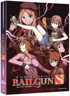 Certain Scientific Railgun, A Season 2 DVD Part 1 (Hyb)