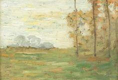 Three Tree in a Field by Robertson Kirtland Mygatt